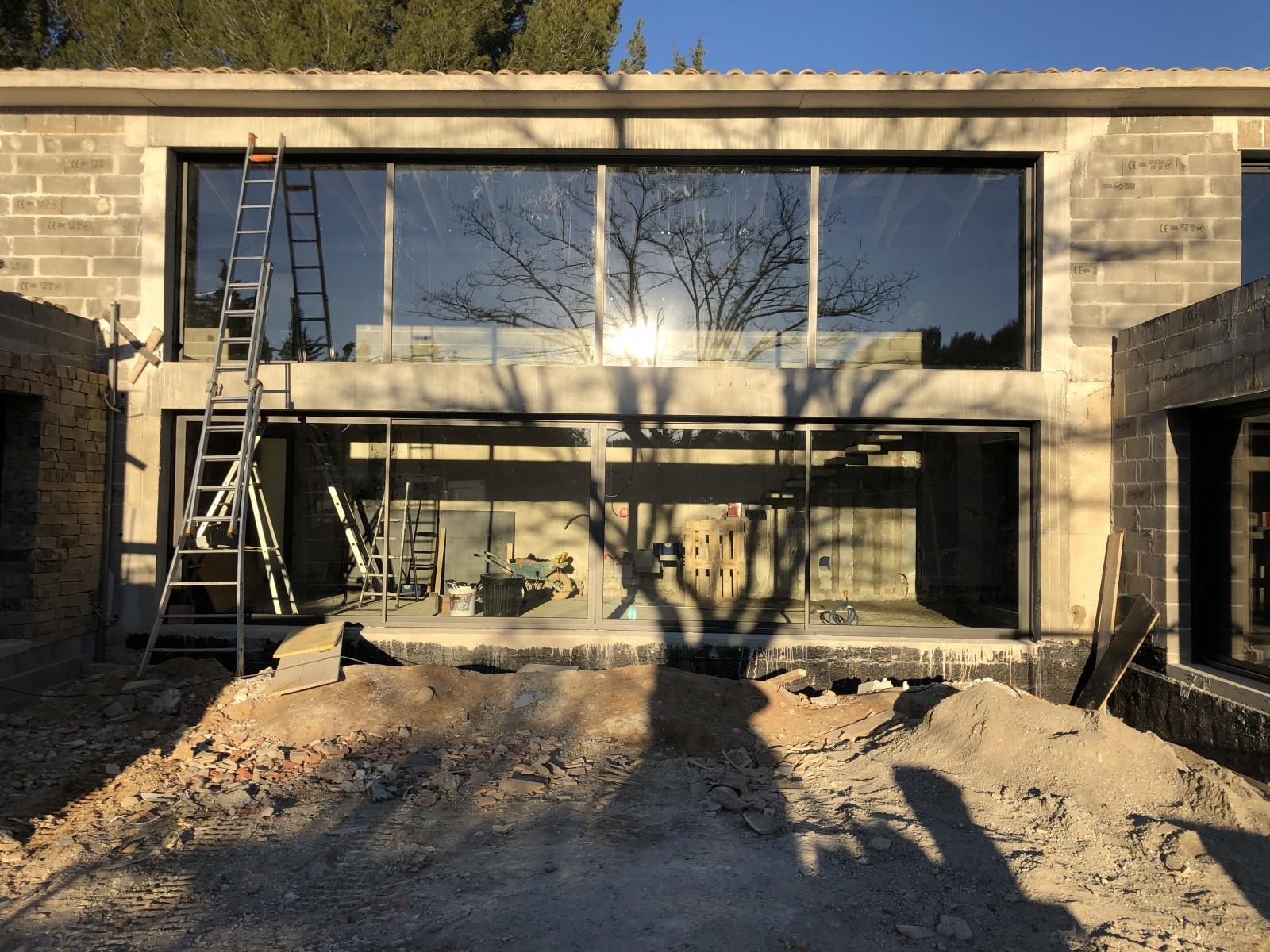 Entreprise De Maçonnerie Aix En Provence travaux de rénovation et mise au norme de villa ancienne à